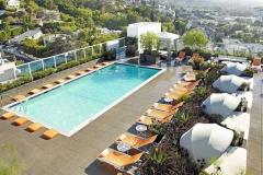 Hyatt Andaz West Hollywood Rooftop Pool