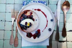 Blueberry and Lilly Pilly Clafoutis