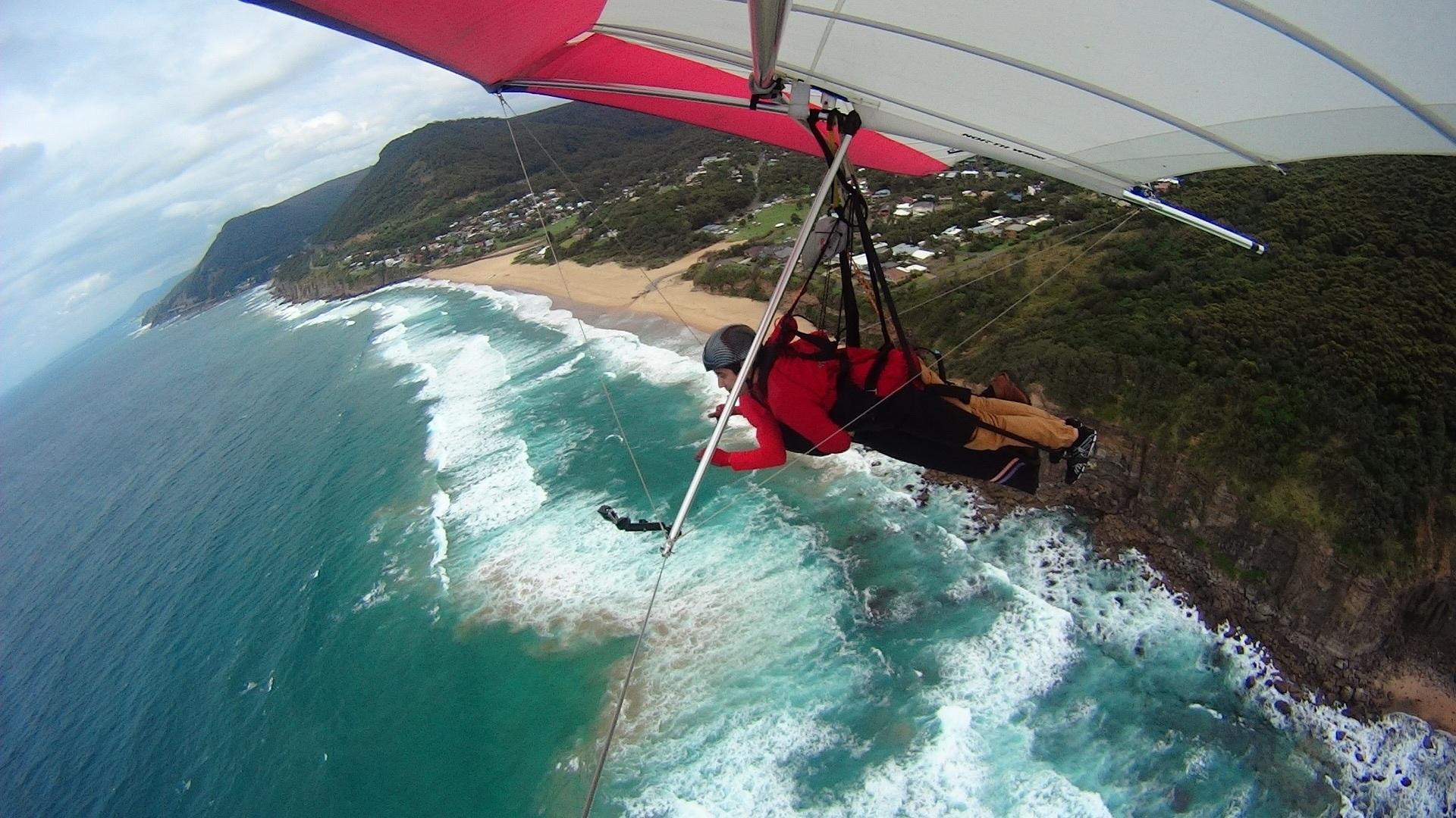 Hang Gliding At Wollongong Travel Amp Lifestyle