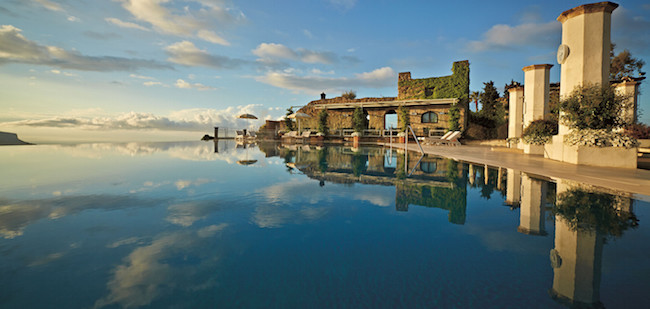 Hotel Caruso, Infinity Pool