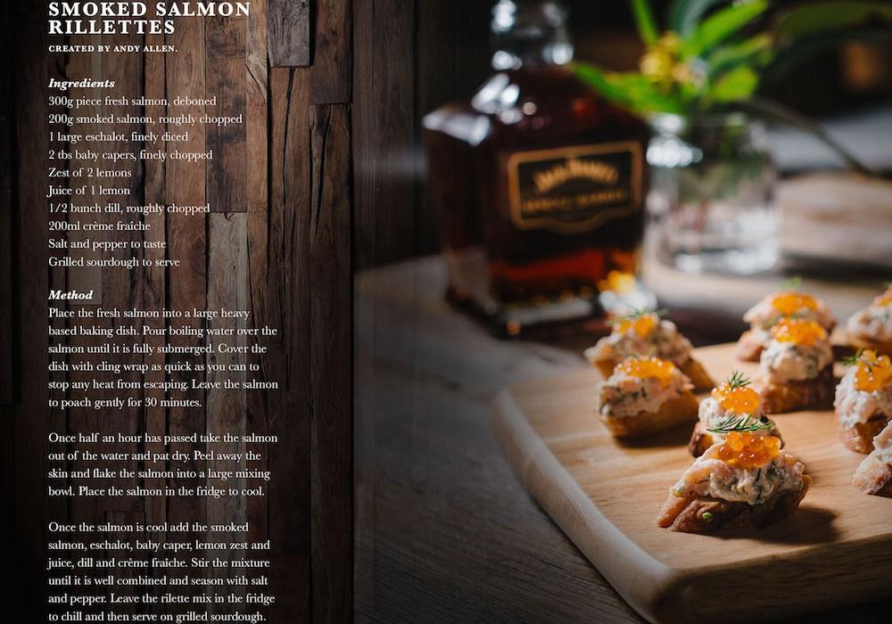Jack Daniels, Salmon Recipe