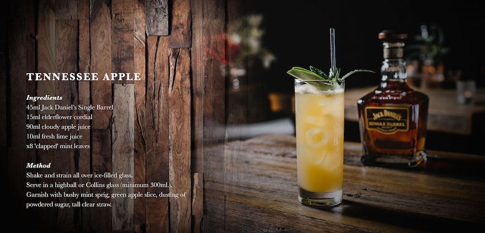 Jack Daniels, Tennessee Apple Cocktails Recipe