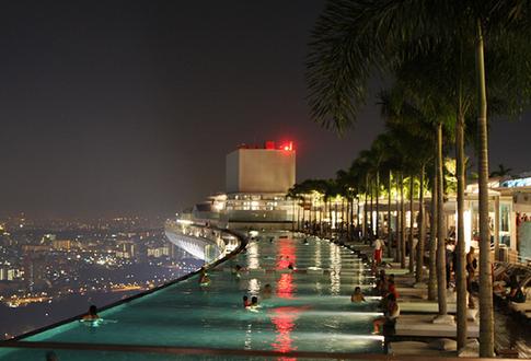 Marina Bay Sands, Infinity Pool
