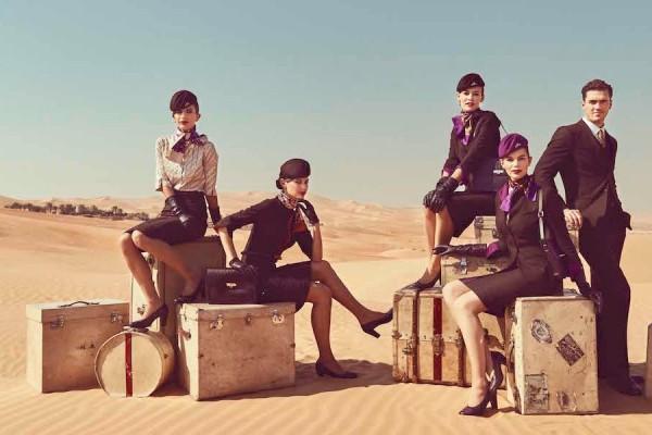 Etihad Airways Global Fashion Week Sponsor