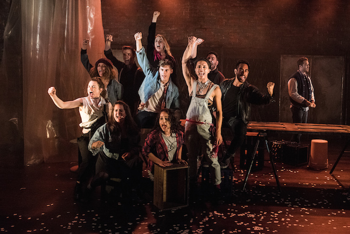 Cast of RENT (c) Kurt Sneddon