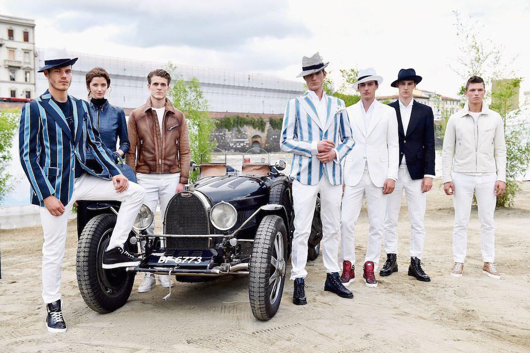 'Ettore Bugatti And LuisaViaRoma. PC: Stefania D'Alessandro