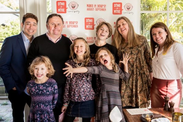 Meet the Robinson Family. Camp Quality - Dine at Mine launch