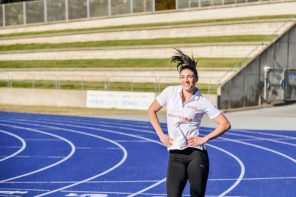 Michelle Jenneke calls on Aussies to celebrate the 2016 Rio Games
