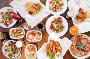 Santa Monica Brisbane street style dining