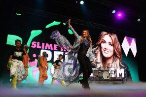 Delta Goodrem at Nickelodeon's Slimefest