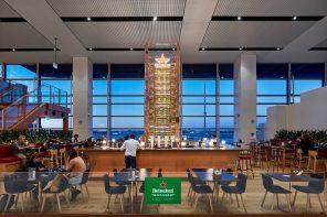 Heineken® House at </p> Sydney International Airport