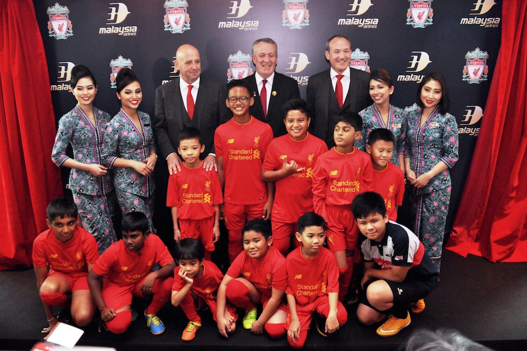 Malaysia Airlines Welcomes Liverpool Football Club