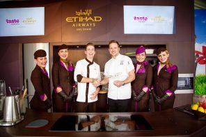 Etihad Airways flies Aussie chefs </p> to Taste the World