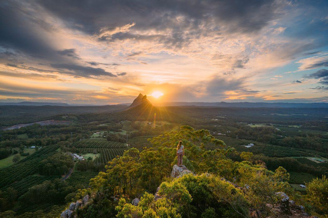Sunshine Coast: Glass House Mountains