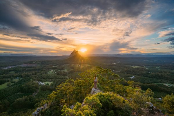 Sunshine Coast: Glass House Mountains