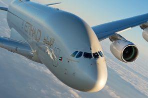 Bonjour Paris from Etihad Airways A380