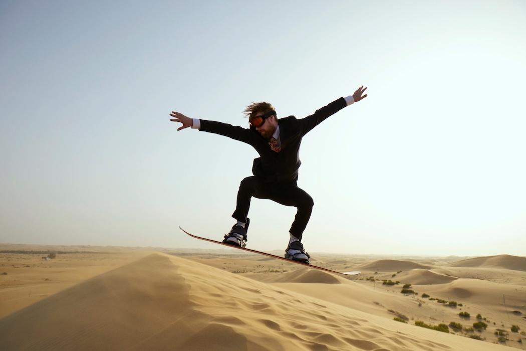 Ricky Wilson x Etihad Airways