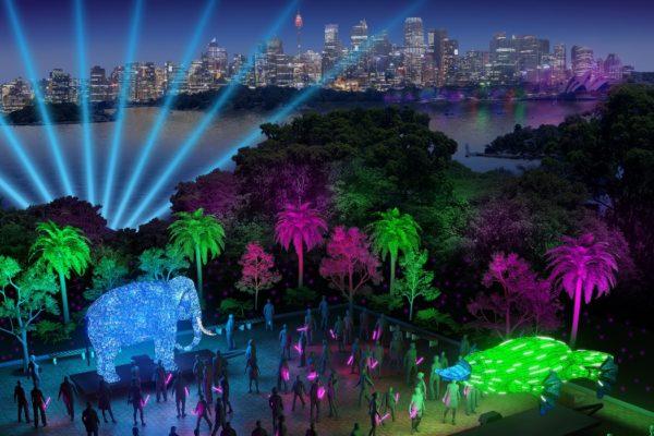 Vivid Sydney Taronga Zoo