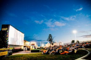 American Express Openair Cinemas now at Pyrmont