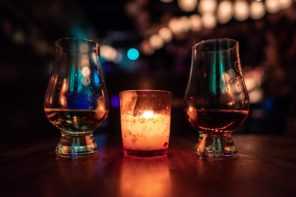 Whiskey tasting with a punch at Soultrap Bar