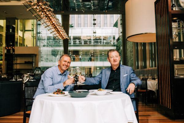 Glass Brasserie, David Rayner, Luke Mangan