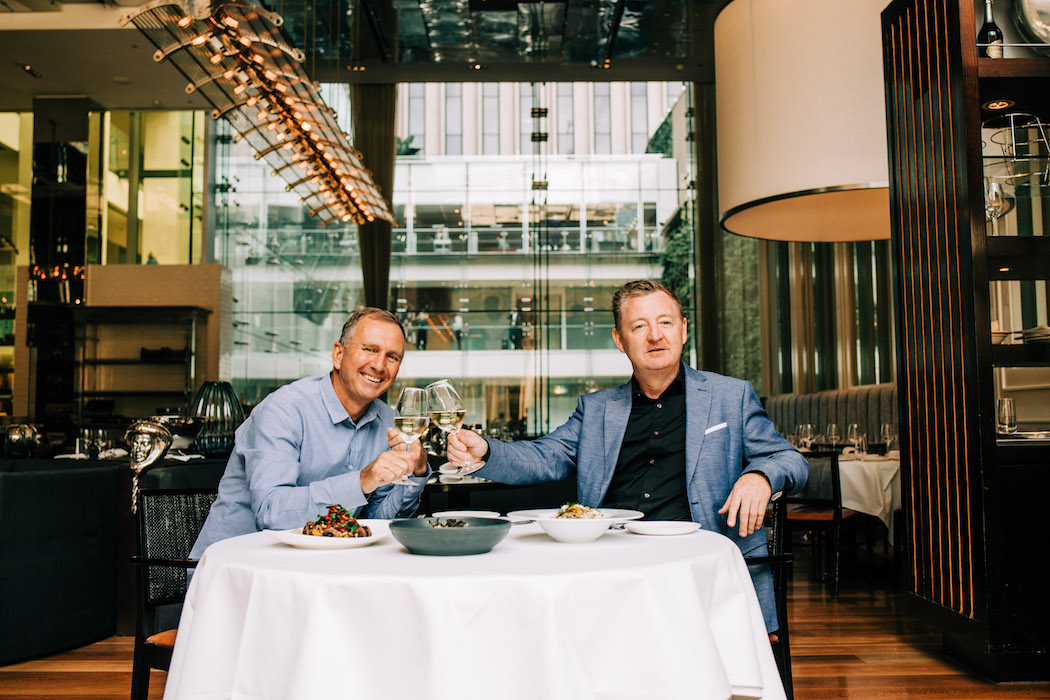 Glass Brasserie, David Rayner, Luke Mangan