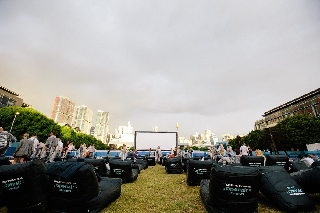 Open Air Cinema Sydney Pyrmont