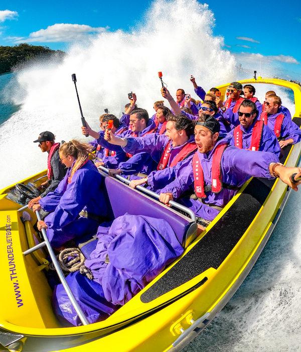 GoPro - Thunder Jet Boat Sydney