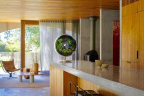 Soil free, zero-gravity indoor garden – Rotofarm