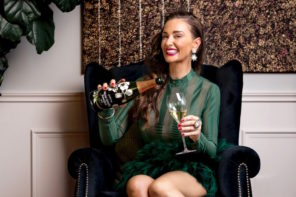 Kyla Kirkpatrick the Champagne Dame