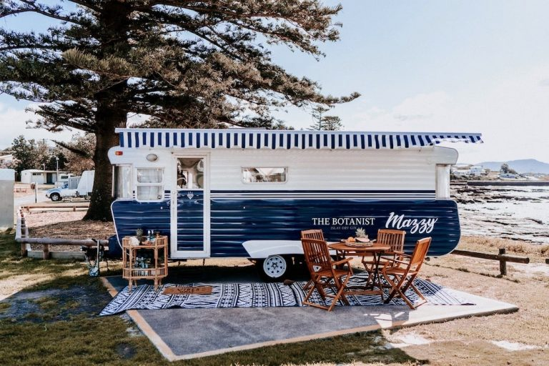 The Botanist Gin caravan is the only van you need this Summer with Camplify.