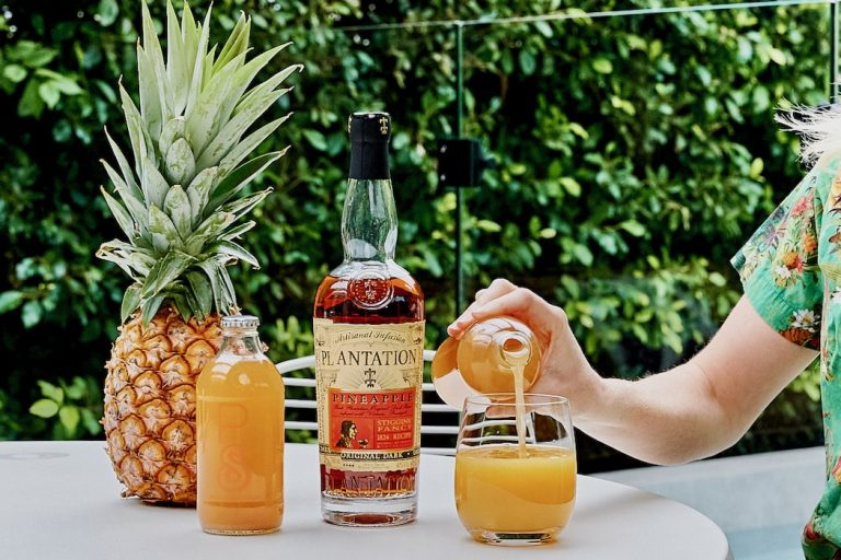 Yo ho ho and a bottle of rum. Plantation Rum with limited edition sustainable bundle