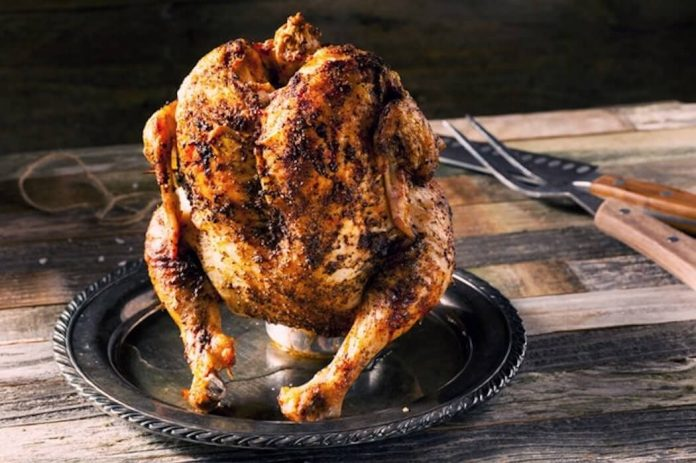 Traeger Grill Beer Can Chicken