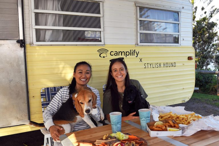 The 'pawfect' caravan road trip with Camplify & Stylish Hound