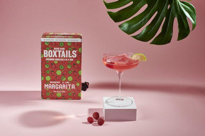 Basic Babe Boxtails | Raspberry & Lime Margarita
