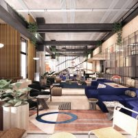 Moxy Hotel Lounge