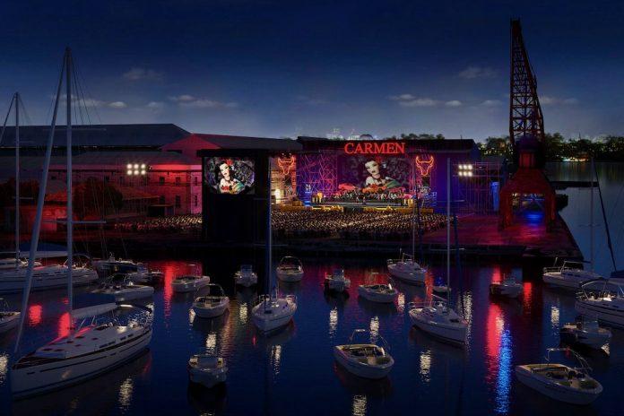 Handa Opera on Sydney Harbour